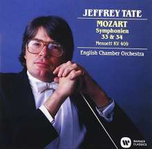 Mozart :  Symphonies Nos.33 & 34 (reissue), CD