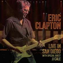 Eric Clapton: Live In San Diego (With Special Guest JJ Cale) (Digisleeve), 2 CDs