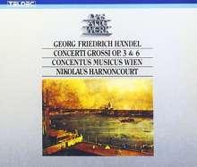 Georg Friedrich Händel (1685-1759): Concerti grossi op.3 Nr.1-6 & op.6 Nr.1-12, 4 CDs