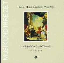 Musik im Wien Maria Theresias um 1750-1775, CD