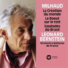 Darius Milhaud (1892-1974): La Creation du Monde-Ballettmusik (Ultimate High Quality CD), CD