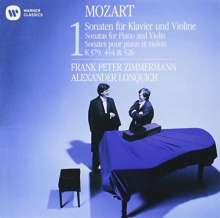 Wolfgang Amadeus Mozart (1756-1791): Sonaten für Violine & Klavier Vol.1 (Ultimate High Quality CD), CD