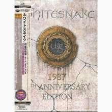 Whitesnake: Whitesnake: 1987 (30th-Anniversary-Edition) (4 SHM-CDs + DVD), 4 CDs