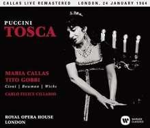 Giacomo Puccini (1858-1924): Tosca (Remastered Live Recording London 24.01.1964), 2 SACDs