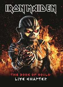 Iron Maiden: The Book Of Souls: Live Chapter (Hardcoverbuch im Schuber), 2 CDs