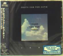 Death Cab For Cutie: Thank You For Today, CD