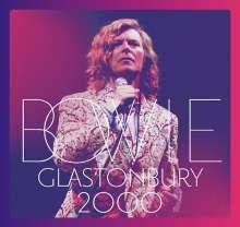 David Bowie (1947-2016): Glastonbury 2000, 2 CDs und 1 DVD