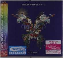Coldplay: Live In Buenos Aires (Digisleeve), 2 CDs