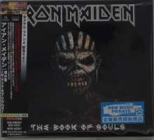 Iron Maiden: The Book Of Souls (Digipack), 2 CDs