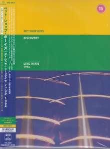 Pet Shop Boys: Discovery: Live In Rio 1994, 1 DVD und 2 CDs