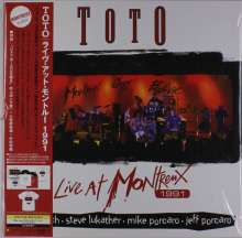 Toto: Live At Montreux 1991 (180g) (Limited-Edition), 2 LPs