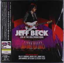 Jeff Beck: Live At The Hollywood Bowl (Limited-Edition), 1 Blu-ray Disc, 3 LPs und 2 CDs