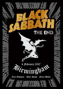 Black Sabbath: The End: Live In Birmingham, 2 CDs