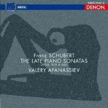 Franz Schubert (1797-1828): Klaviersonaten D.958-960 (Blu-spec CD), 2 CDs