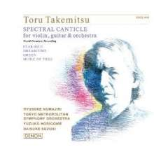 Toru Takemitsu (1930-1996): Spectral Canticle (SHM-SACD), SACD