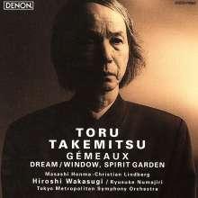 Toru Takemitsu (1930-1996): Gemeaux f.Oboe,Posaune,2 Orchester (Blu-spec CD), CD