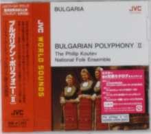 Philip Koutev National Folk Ensemble: JVC World Sounds: Bulgarian Polyphony II, CD