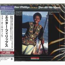 Esther Phillips: For All We Know (BLU-SPEC CD), CD