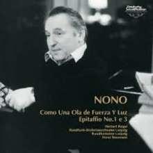 Luigi Nono (1924-1990): Como una ola de fuerza y luz (Ultimate Hi Quality-CD), CD