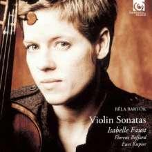 Bela Bartok (1881-1945): Sonaten für Violine & Klavier Nr.1 & 2, 2 CDs