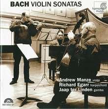 Johann Sebastian Bach (1685-1750): Sonaten für Violine & Cembalo BWV 1014-1019,1021,1023,1024 (Ultimate High Quality CD), 2 CDs