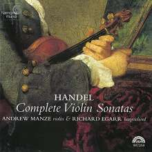 Georg Friedrich Händel (1685-1759): Violinsonaten op.1 Nr.3,6,10,12,13, CD