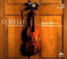Arcangelo Corelli (1653-1713): Violinsonaten op.5 Nr.1-12  (Ultimate High Quality-CD), 2 CDs