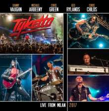 Tyketto: Live From Milan 2017, CD