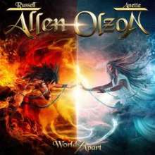 Russell Allen & Anette Olzon: Worlds Apart, CD