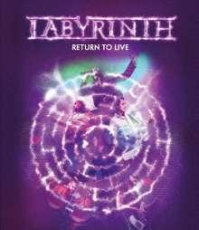 Labyrinth: Return To Live, Blu-ray Disc