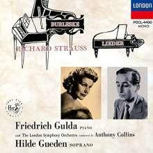 Richard Strauss (1864-1949): Lieder, CD