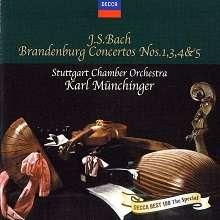 Johann Sebastian Bach (1685-1750): Brandenburgische Konzerte Nr.1,3,4,5, CD