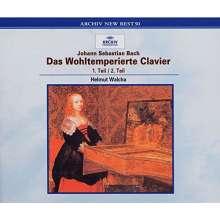 Johann Sebastian Bach (1685-1750): Das Wohltemperierte Klavier 1 & 2, 2 CDs