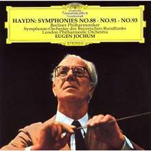 Joseph Haydn (1732-1809): Symphonien Nr.88,91,93, CD