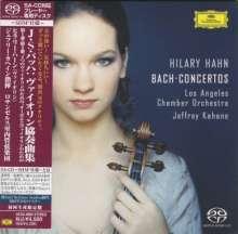 Johann Sebastian Bach (1685-1750): Violinkonzerte BWV 1041-1043,1060 (SHM-SACD), SACD Non-Hybrid