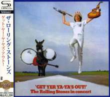The Rolling Stones: Get Yer Ya-ya's Out! (SHM-CD) (Reissue), CD