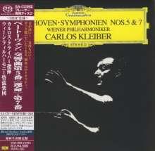 Ludwig van Beethoven (1770-1827): Symphonien Nr.5 & 7 (SHM-SACD), Super Audio CD Non-Hybrid