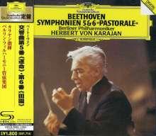 Ludwig van Beethoven (1770-1827): Symphonien Nr.5 & 6 (SHM-CD), CD