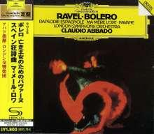 Maurice Ravel (1875-1937): Bolero (SHM-CD), CD