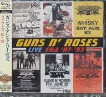 Guns N' Roses: Live Era '87 - '93 (SHM-CD) (Reissue), 2 CDs