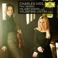Charles Ives (1874-1954): Sonaten für Violine & Klavier Nr.1-4 (SHM-CD), CD