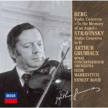 Arthur Grumiaux spielt Violinkonzerte, CD