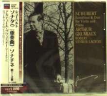 Franz Schubert (1797-1828): Violinsonaten D.384,385,408 (Sonatinen für Violine & Klavier), CD