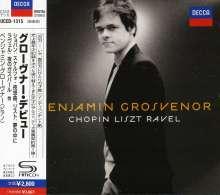 Benjamin Grosvenor - Chopin/Liszt/Ravel-Recital (SHM-CD), CD