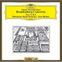 Johann Sebastian Bach (1685-1750): Brandenburgische Konzerte Nr.1-4,6, CD