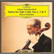 Johann Sebastian Bach (1685-1750): Cellosuiten BWV 1007,1009,1011, CD