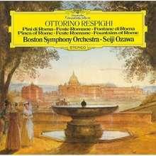 Ottorino Respighi (1879-1936): Fontane di Roma (Platinum-SHM-CD), CD