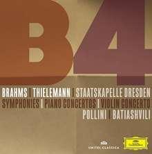 Johannes Brahms (1833-1897): Symphonien Nr.1-4 (SHM-CD), 3 CDs