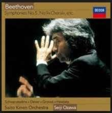 Ludwig van Beethoven (1770-1827): Symphonien Nr.5 & 9 (Blu-spec-CD), 2 CDs