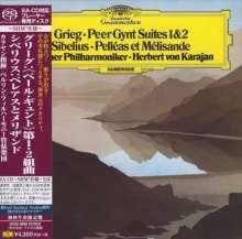Edvard Grieg (1843-1907): Peer Gynt-Suiten Nr.1 & 2 (SHM-SACD), Super Audio CD Non-Hybrid